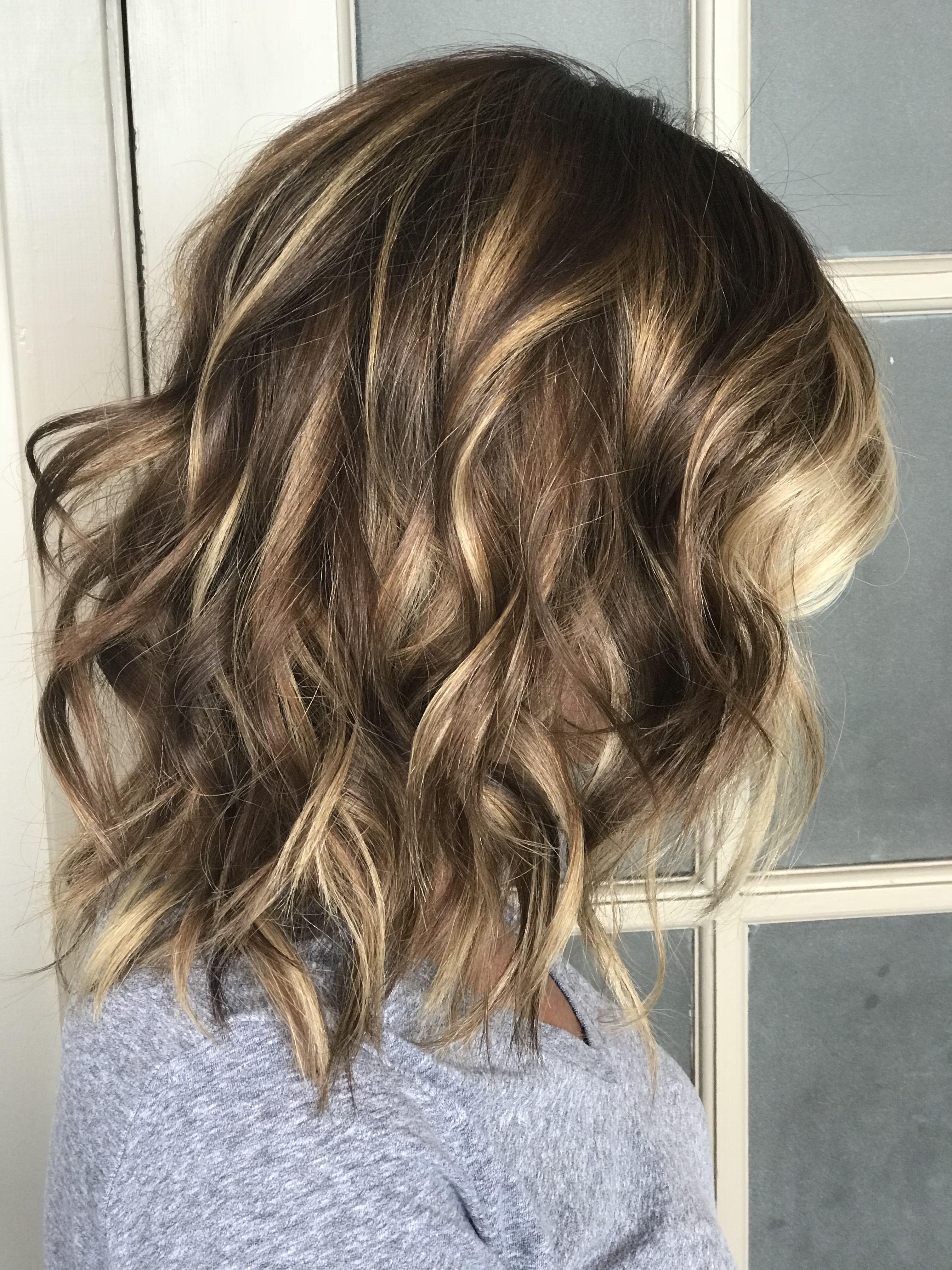 Balayage By Brea At Creative Hair Design Omaha Ne Creative Hairstyles New Hair Long Hair Styles