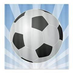Soccer Shower Curtain Http Www Cafepress Com Sportsnuts