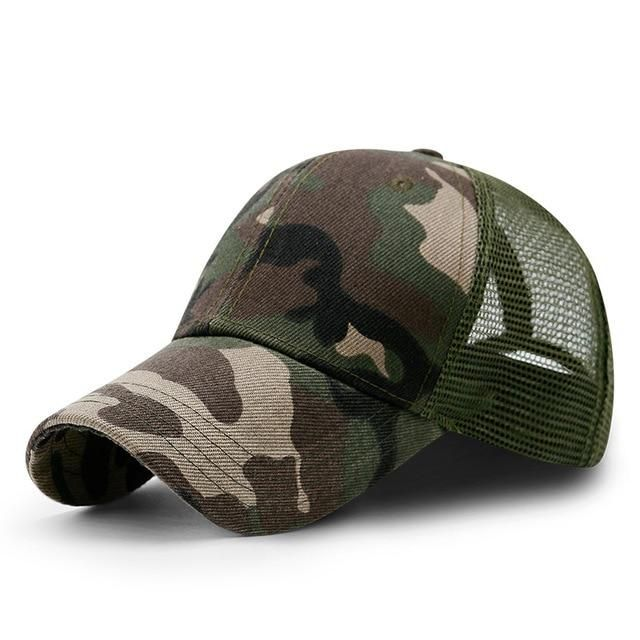 2dbbbf26fd5 Five Pointed Star Flat Top Camouflage Hat