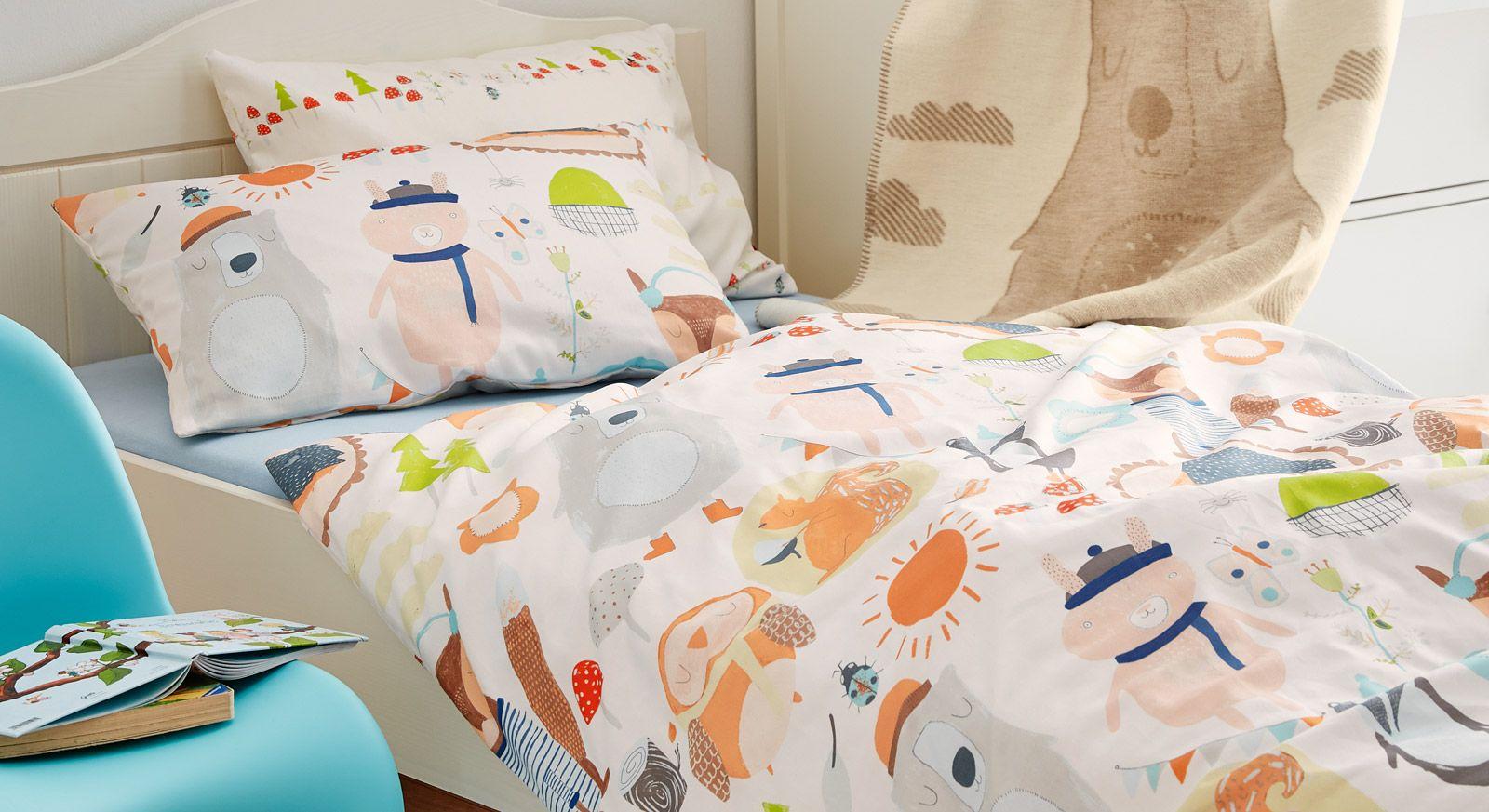 Baby Bettwäsche Von Soliver Aus Baumwolle Bettende