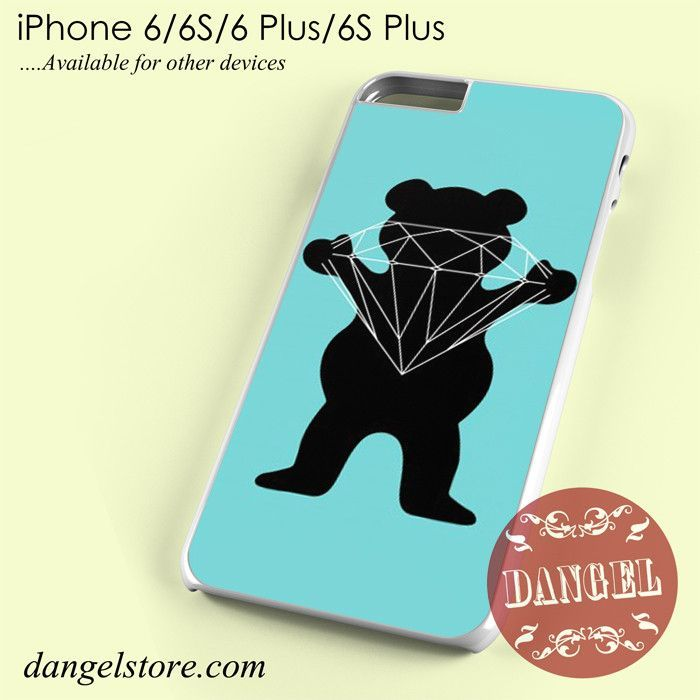 Grizzly X Diamond Phone case for iPhone 6/6s/6 Plus/6S plus