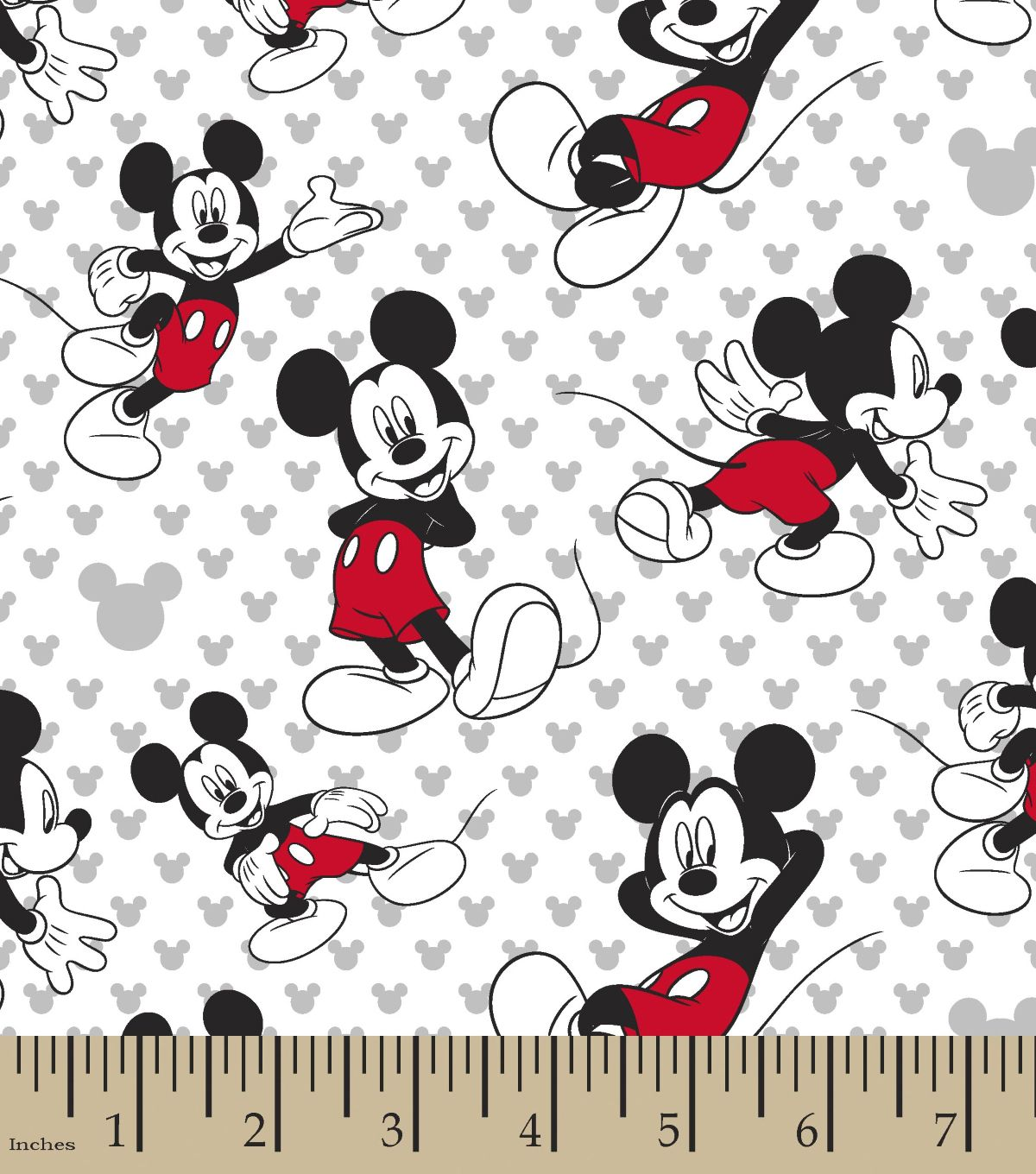 Disney Mickey Mouse Cotton Fabric Totally Mickey Toss | JOANN | Mickey mouse  fabric, Disney fabric, Disney mickey mouse