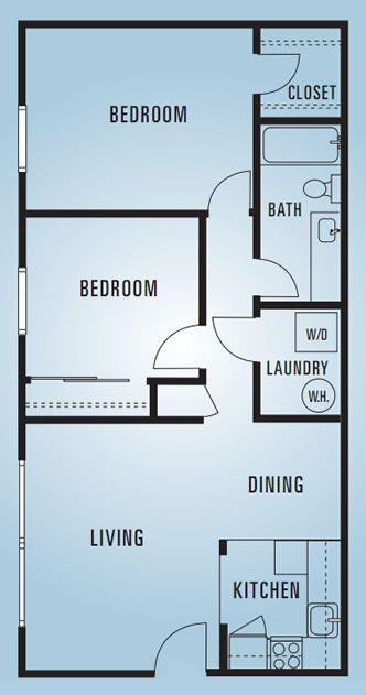609 Anderson - Two Bedroom