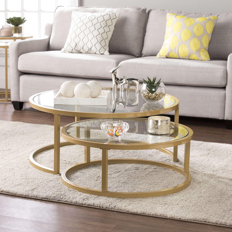 Best Southern Enterprises Evelyn Gold Glam Nesting Cocktail 640 x 480