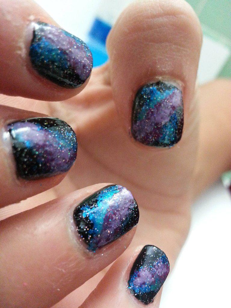 Galaxy Nails Tutorial - for r/RedditLaqueristas by u/Pennylane907 ...