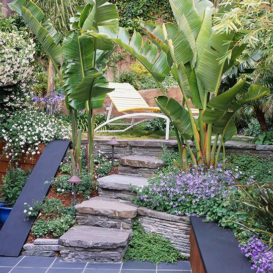 Small Space Garden Ideas: Small-Space Landscaping Ideas