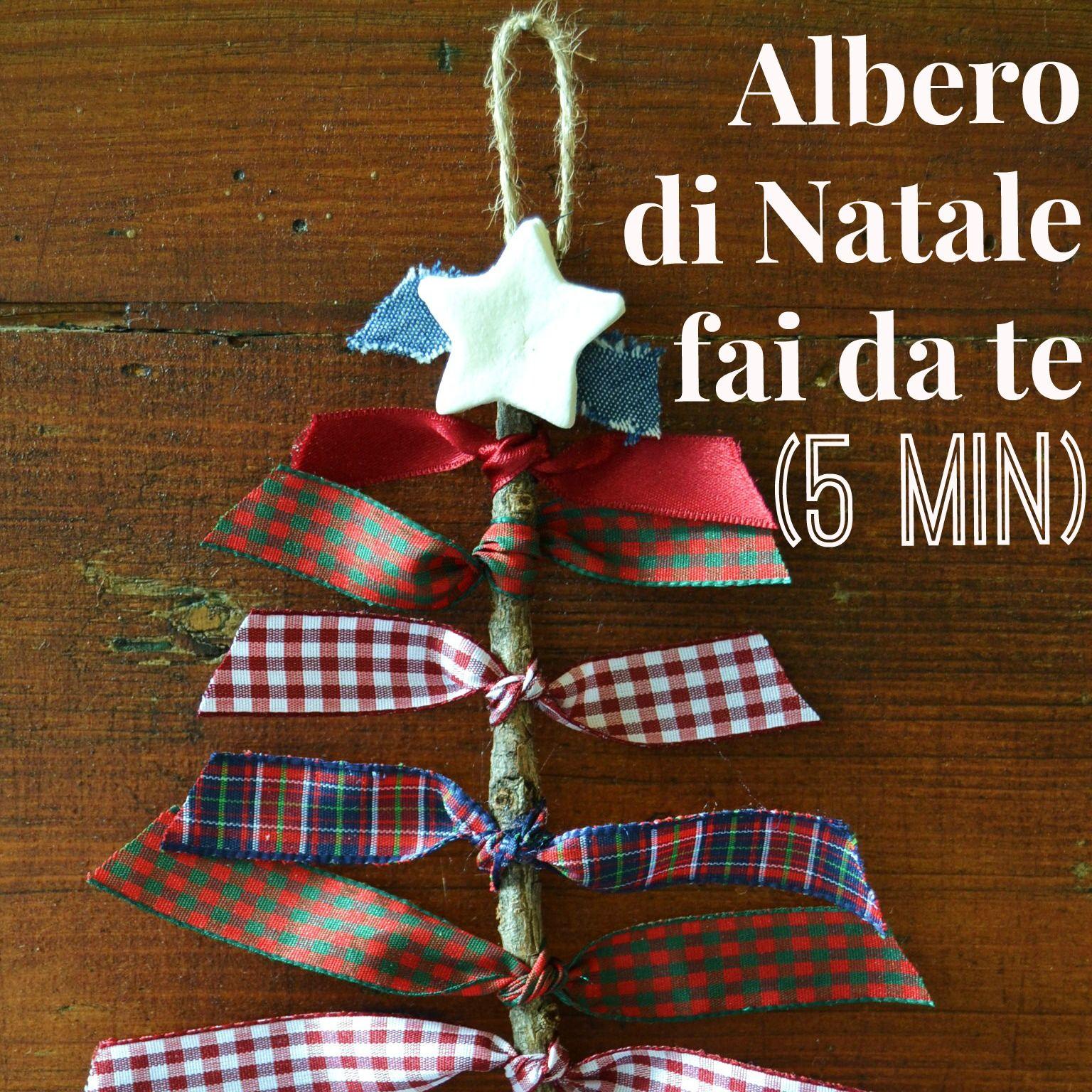 Lavoretti Di Natale In 5 Minuti.Albero Di Natale Fai Da Te In 5 Minuti Natale Fai Da Te Albero Di Natale Fai Da Te Fai Da Te