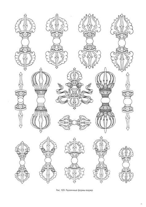 Tibetan Ornament Drawings Pinterest Drawings And Paintings