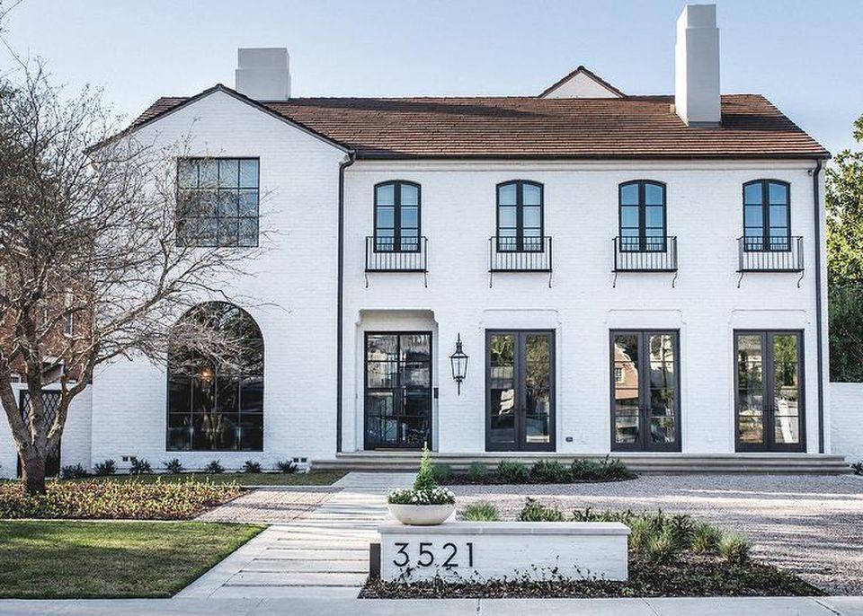 75 Beautiful Rustic Mediterranean Farmhouse Exterior Design