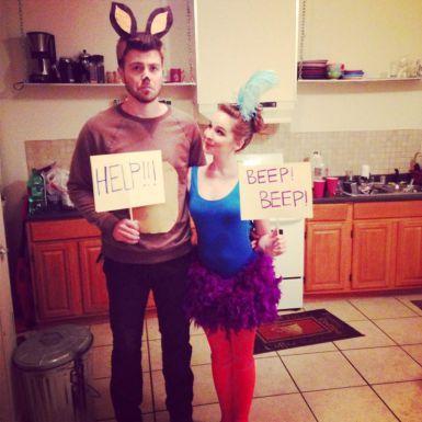 96 Halloween Couple Costume Ideas That Will Honestly Amaze All - teenage couple halloween costume ideas