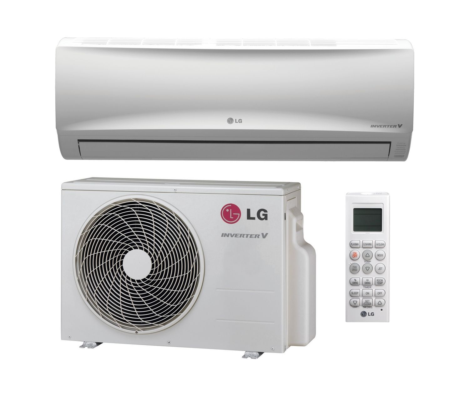 White Air Conditioning Split With Controler