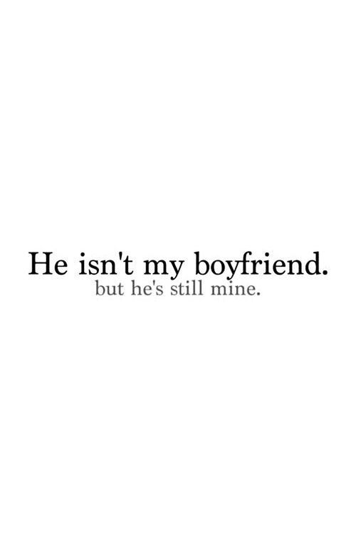 Don't talk to him.  Ever.  Or look at him.  Or smile at him.  Or think about him.  If that's not too much to ask...