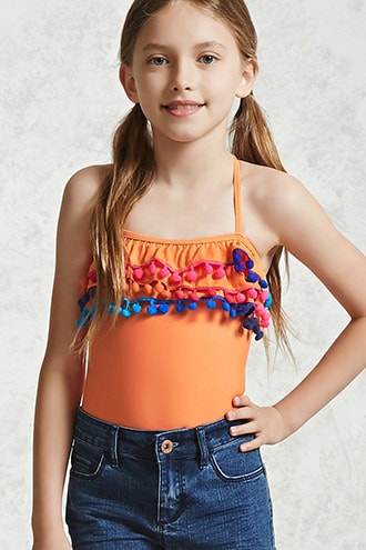 1a12615597bd4 Girls One-Piece Swimsuit (Kids) in 2019 | things that make me cum ...