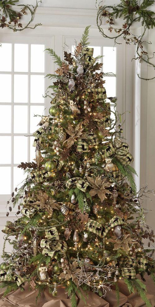 christmas tree ideas - Natural Christmas Tree