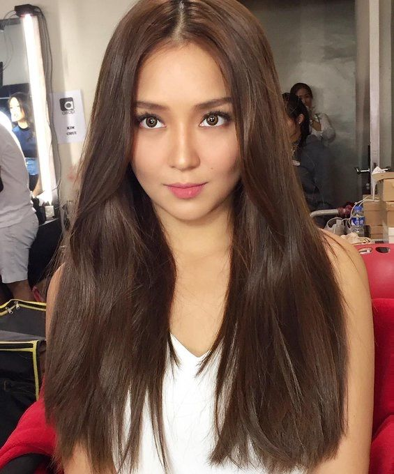 Pin By Isabel On Kathniel In 2019 Hair Color For Morena