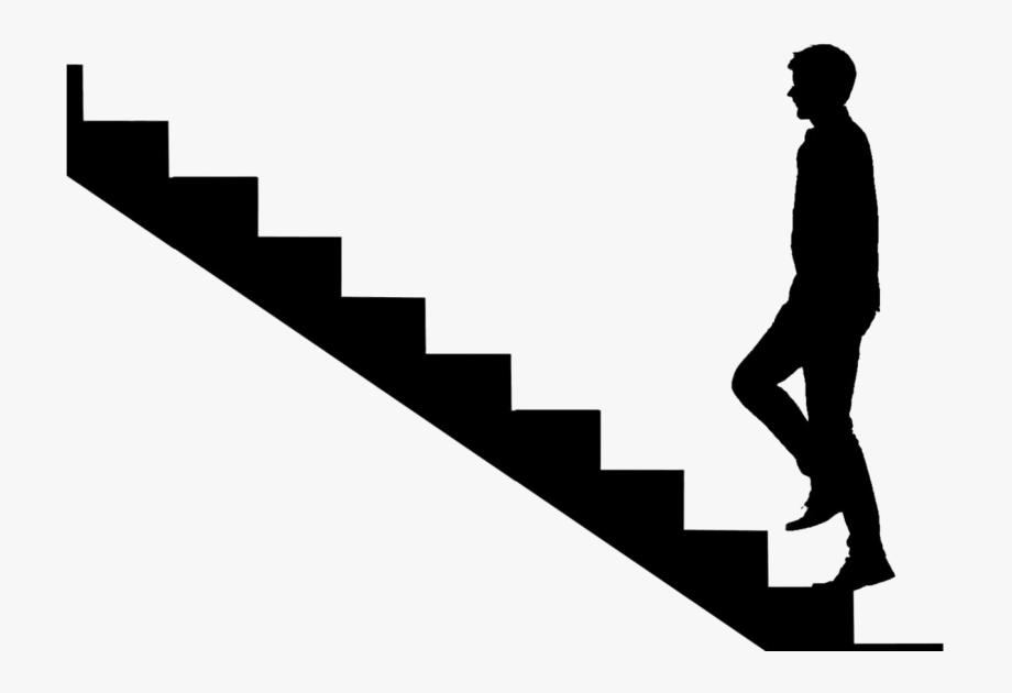 Business Man Walking Upstairs Png Lyudi