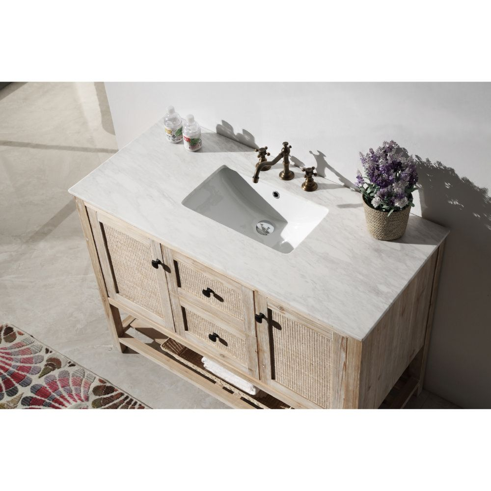 vanity br furniture wood no faucet marble legion with antique sink color f top brown solid