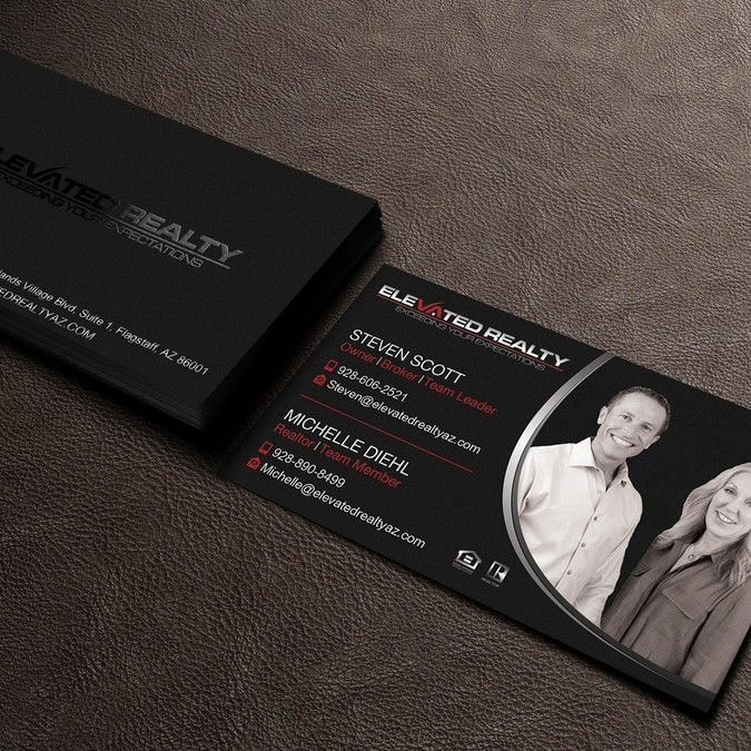 Real estate team needs eye catching business card by nell logos real estate team needs eye catching business card by nell colourmoves Images