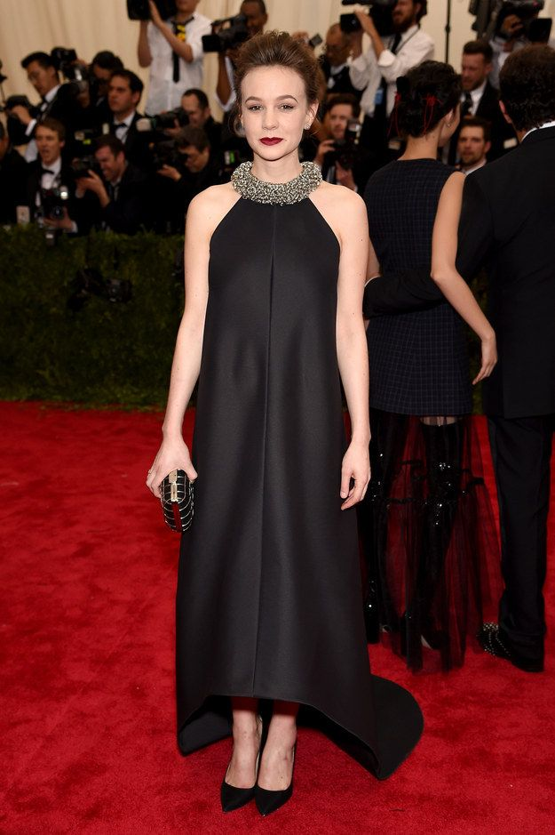 Carey Mulligan | Here's What The Stars Wore To The 2015 Met Gala