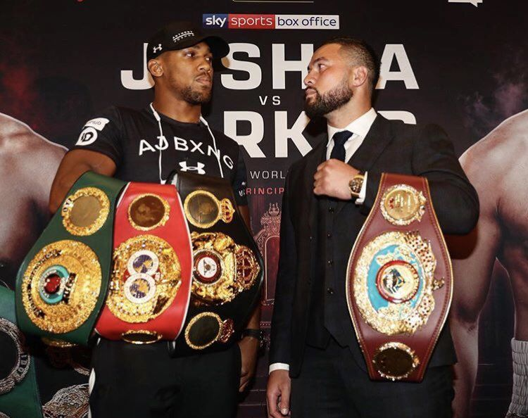 Anthony Joshua Vs Joseph Parker What Time Is The Fight What Tv Channel Is It On And What Are The Odds When Is A Anthony Joshua Vs Joseph Parker Anthony Joshua