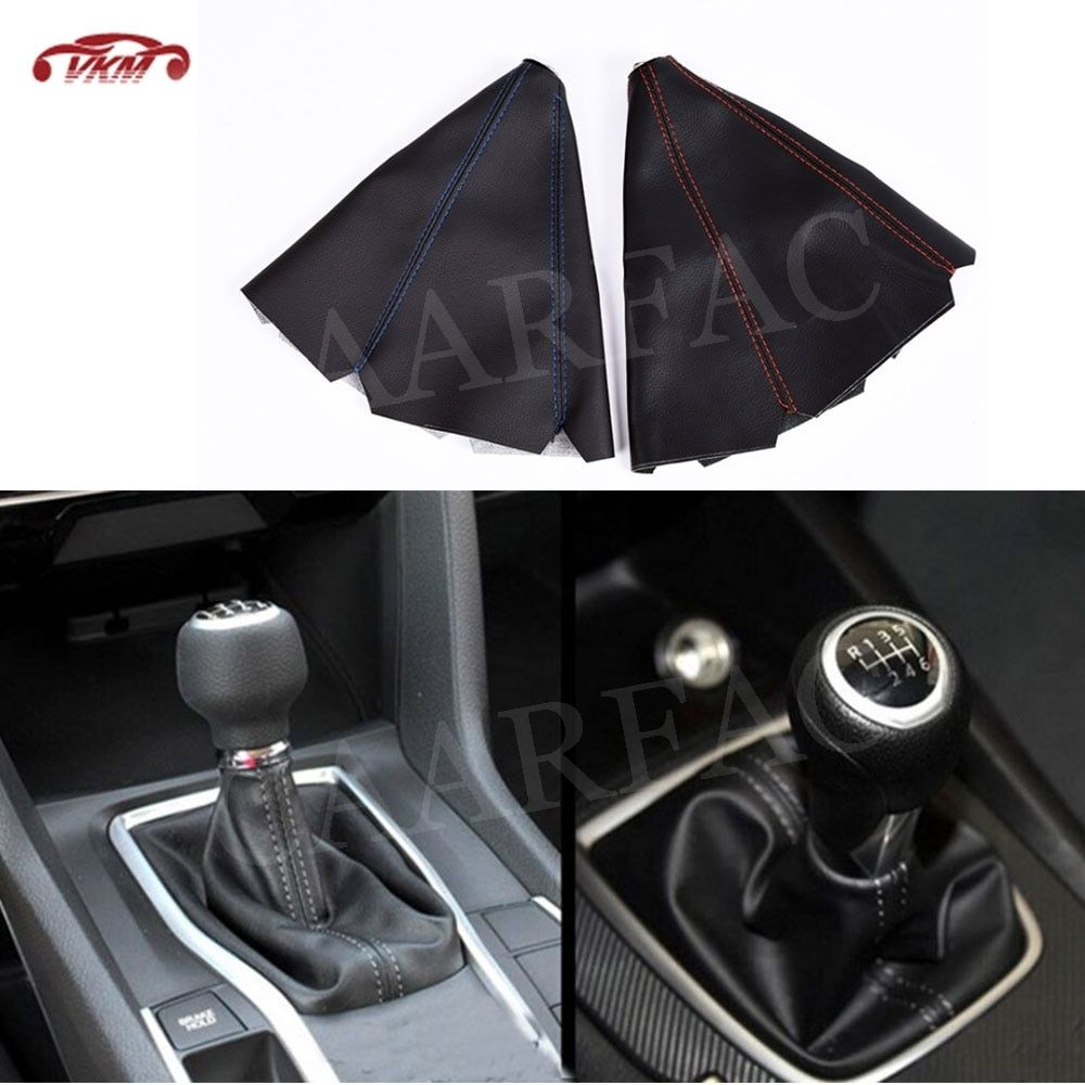 Introducing our lastest Gear Shifter Shift Collars Stitch Gear Shift Boot Cover Dust Cap Gaiter Uni
