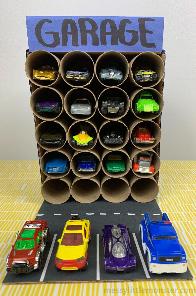 The CUTEST Cardboard Box Crafts for Kids