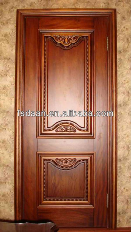 Modern single door designs for houses decorating 415265 for Simple wooden front door designs