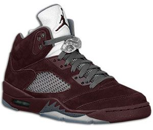 Air Jordan 5 Deep Burgundy / Lt Graphite-Silver