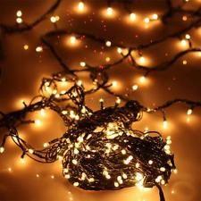 Colorido Led De Cadena De Luces Navideñas Christma Xmas Jardín Árbol Boda Fiesta EU enchufe