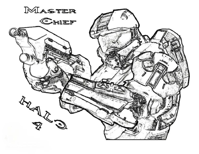 lego halo coloring pages to print | Movie | Pinterest