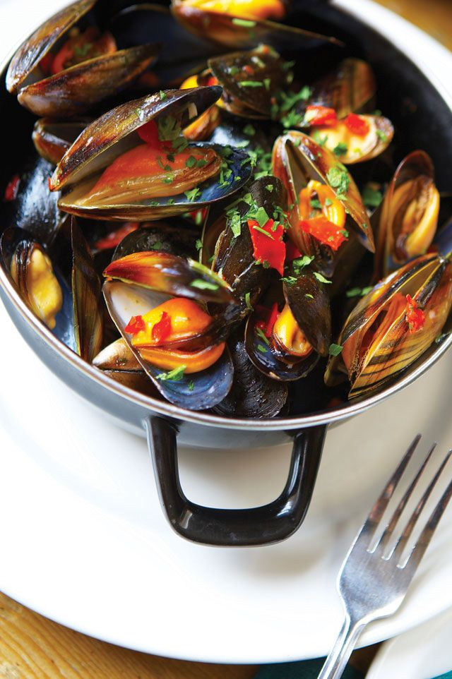 Mexican style mussels recipe Mussels recipe, Seafood