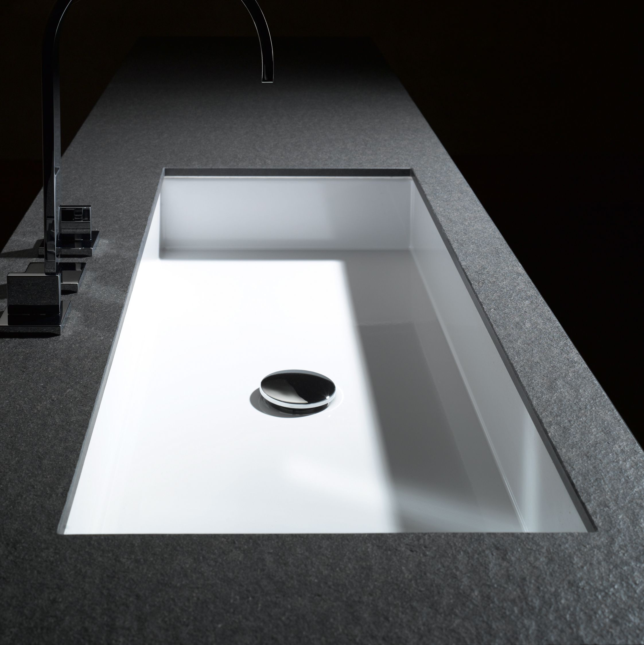 Lavabo VASQUE ENCASTRéE - ALAPE | bathroom | Sink, Bathroom ...
