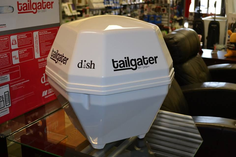 The Tailgater from DISH. Never miss your favorite show or