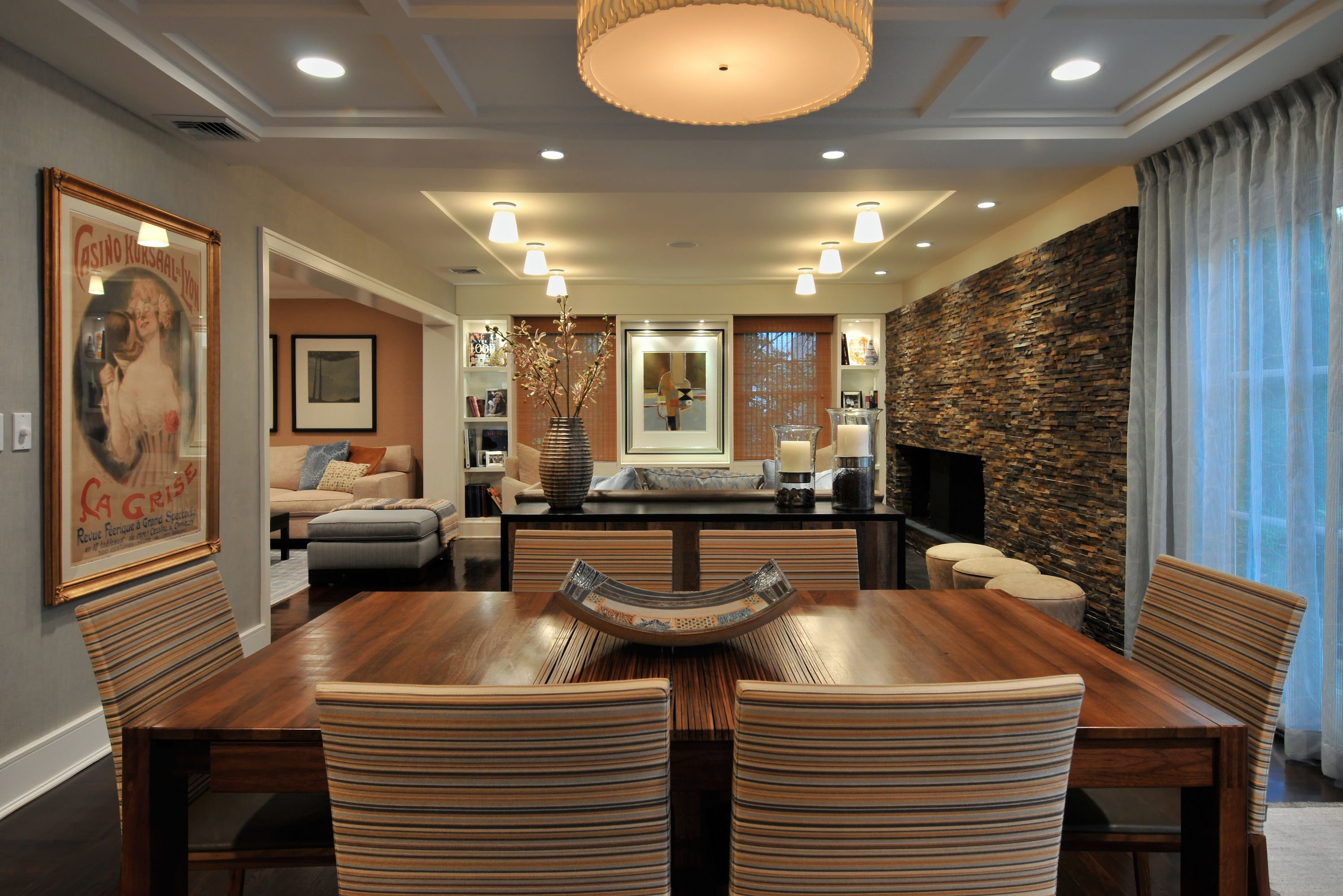 tips for designing an open floor plan in home interior design decor also rh pinterest