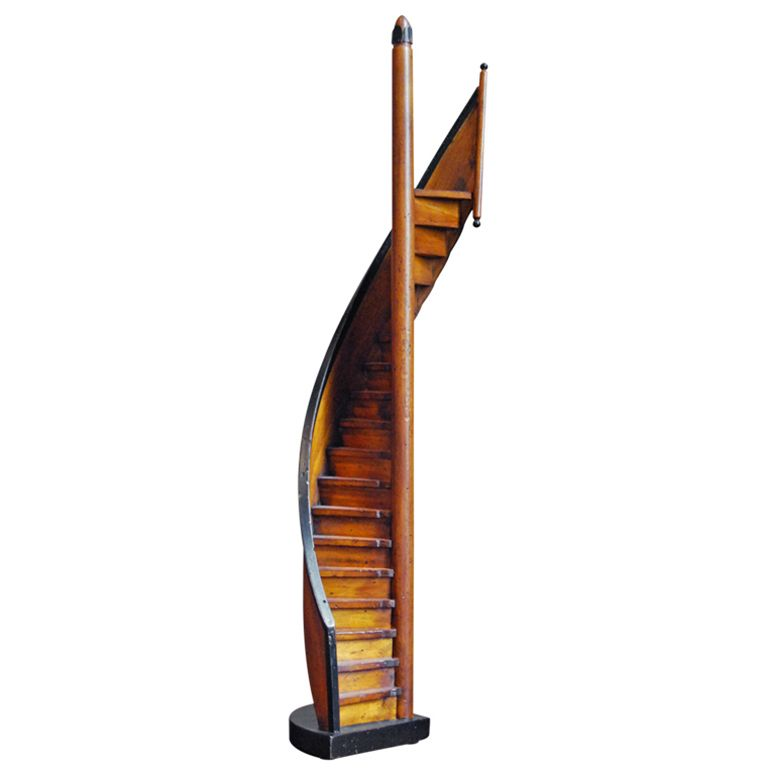 Vintage Spiral Stair Attic Renovation Attic Remodel