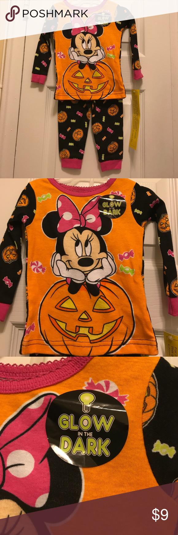 nwt disney baby halloween pjs minnie mouse 9 month brand new with tag disney baby halloween