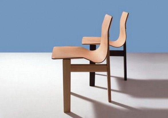 Angelo Mangiarotti's Tre3  chair for AgapeCasa.