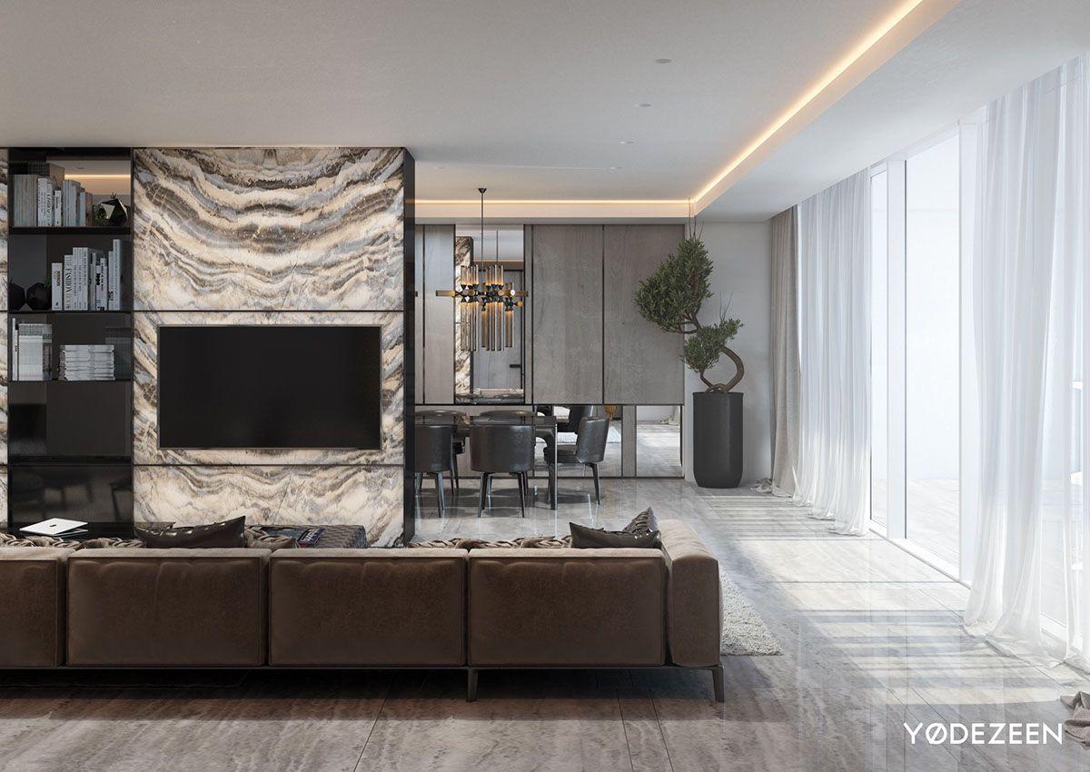 2 Majestic Living Room Interior Design Ideas