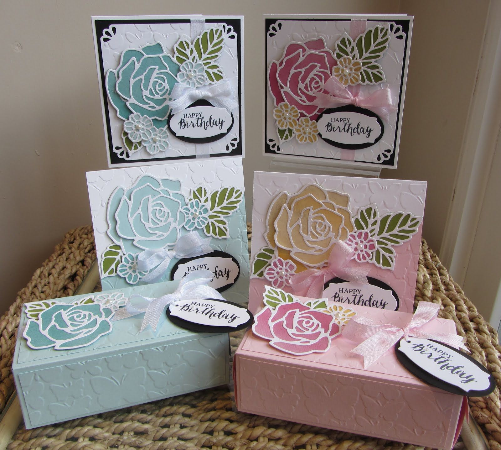 Rose Wonder & Rose Garden Stamp Class