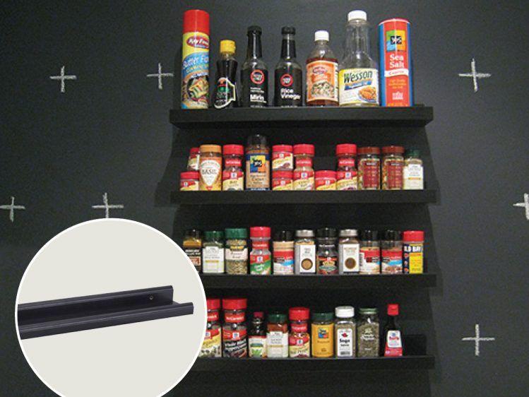 14 genius Ikea hacks to help you get organized: DIY spice rack