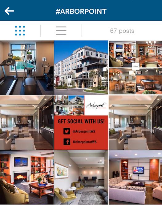 Hashtags Instagram Multifamily