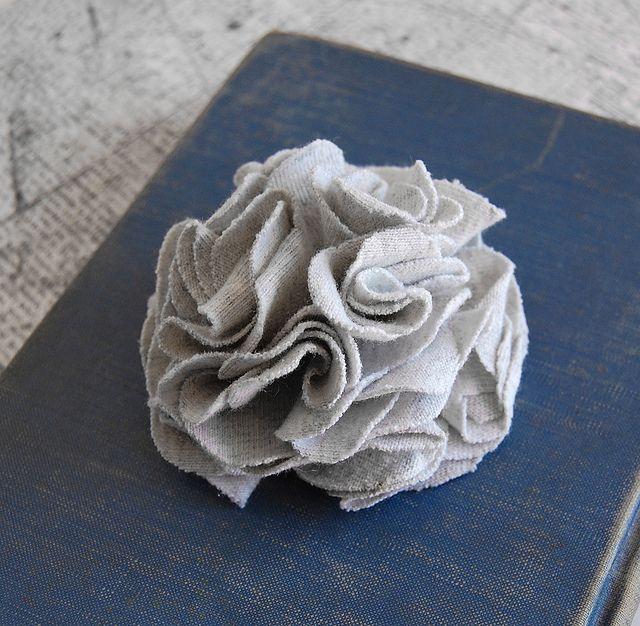 Light Gray Carnation Clip  by Marang Studios, via Flickr
