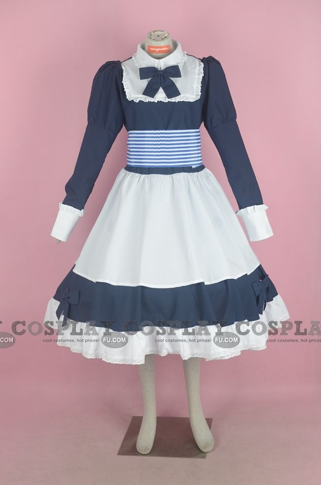 A beautiful Belarus dress ! :D It comes with a white hair bow ! :) - Credits go to CosplayFU.com