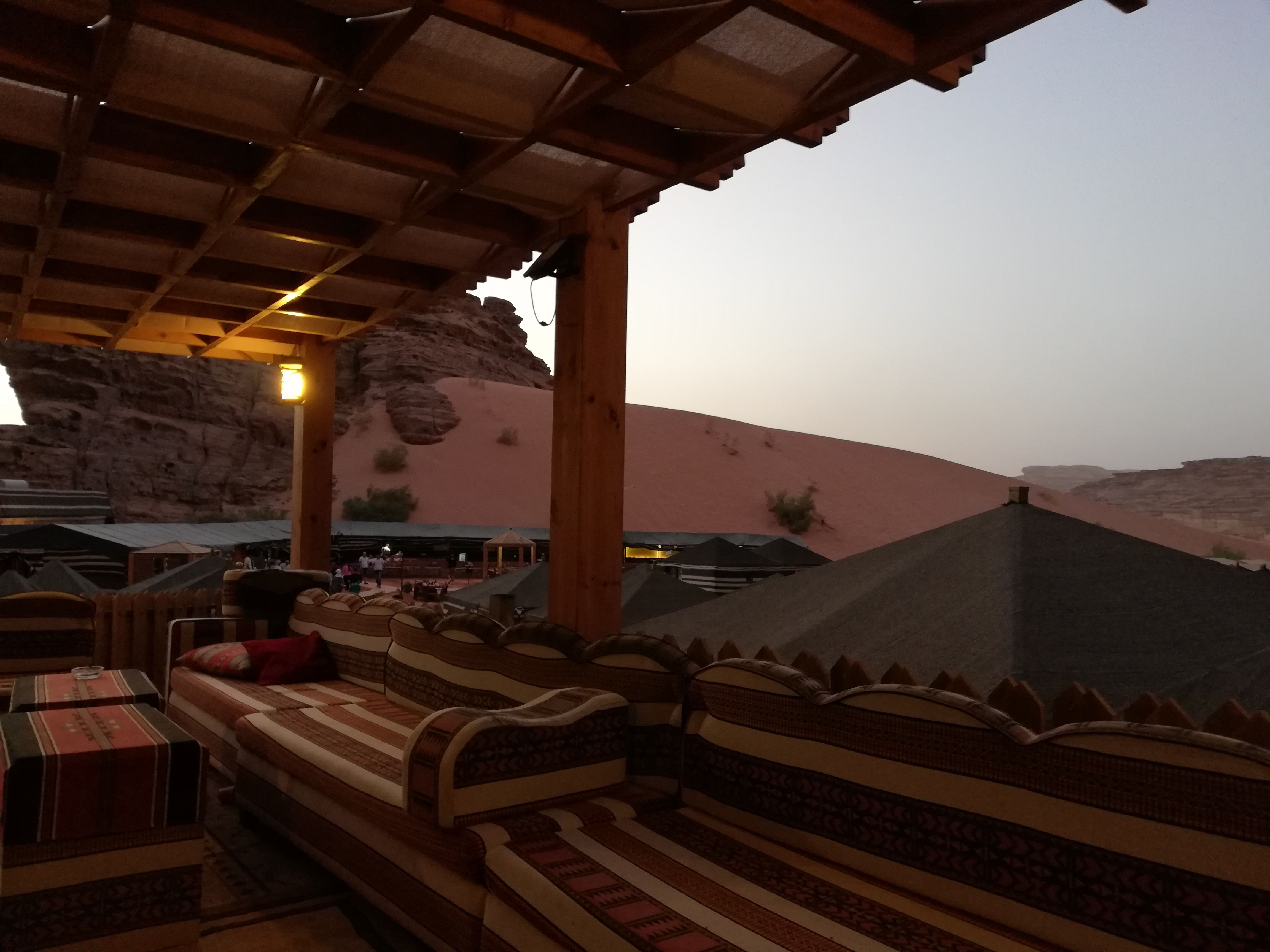 Bedouin camps accommodation in Wadi Rum, as good as hotels #wadirum