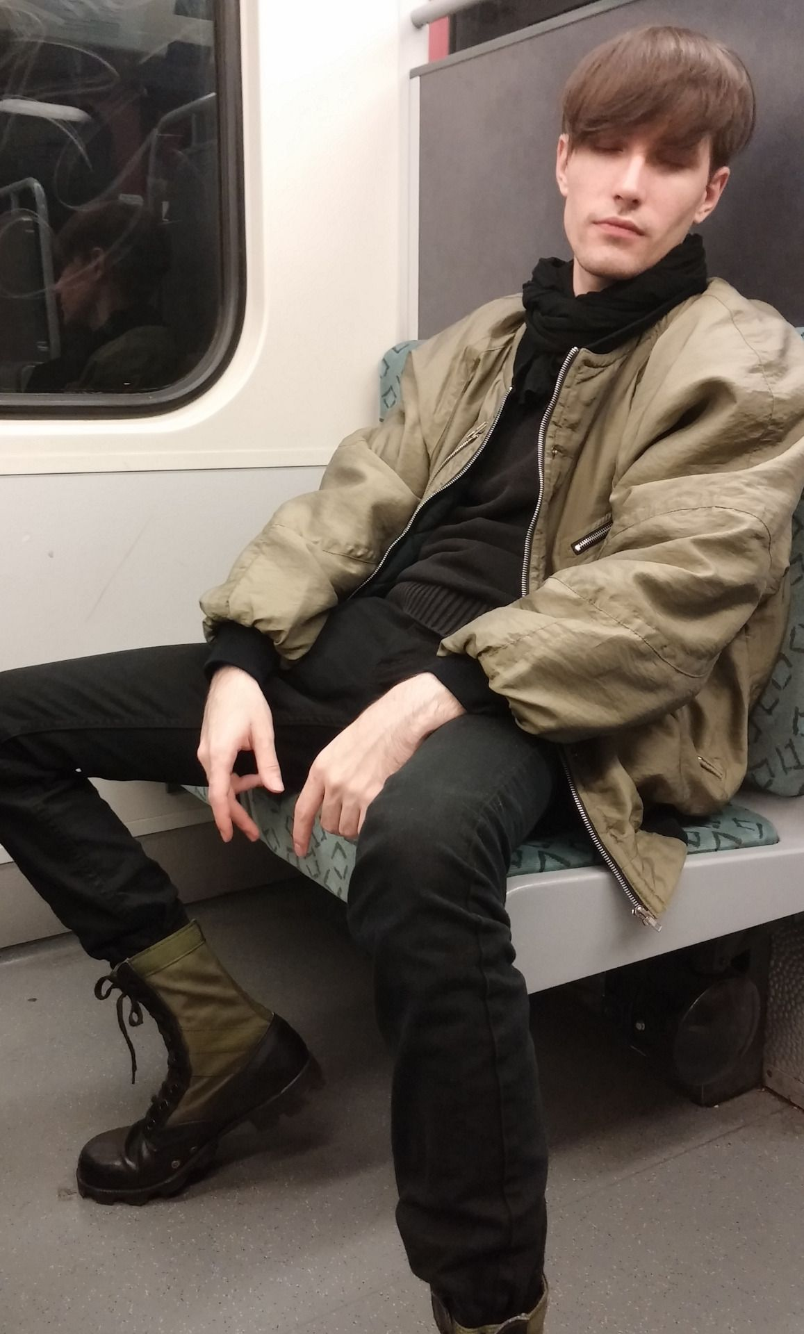 all baggied out after berghain http://youtu.be/trqL3pzE8rg