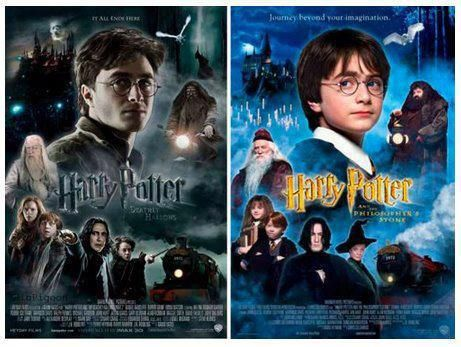 Wow Movie 1 To Movie 7 How Time Has Passed Harry Potter Obsession Harry Potter Series Potter