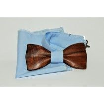 Деревянный галстук-бабочка Woodton