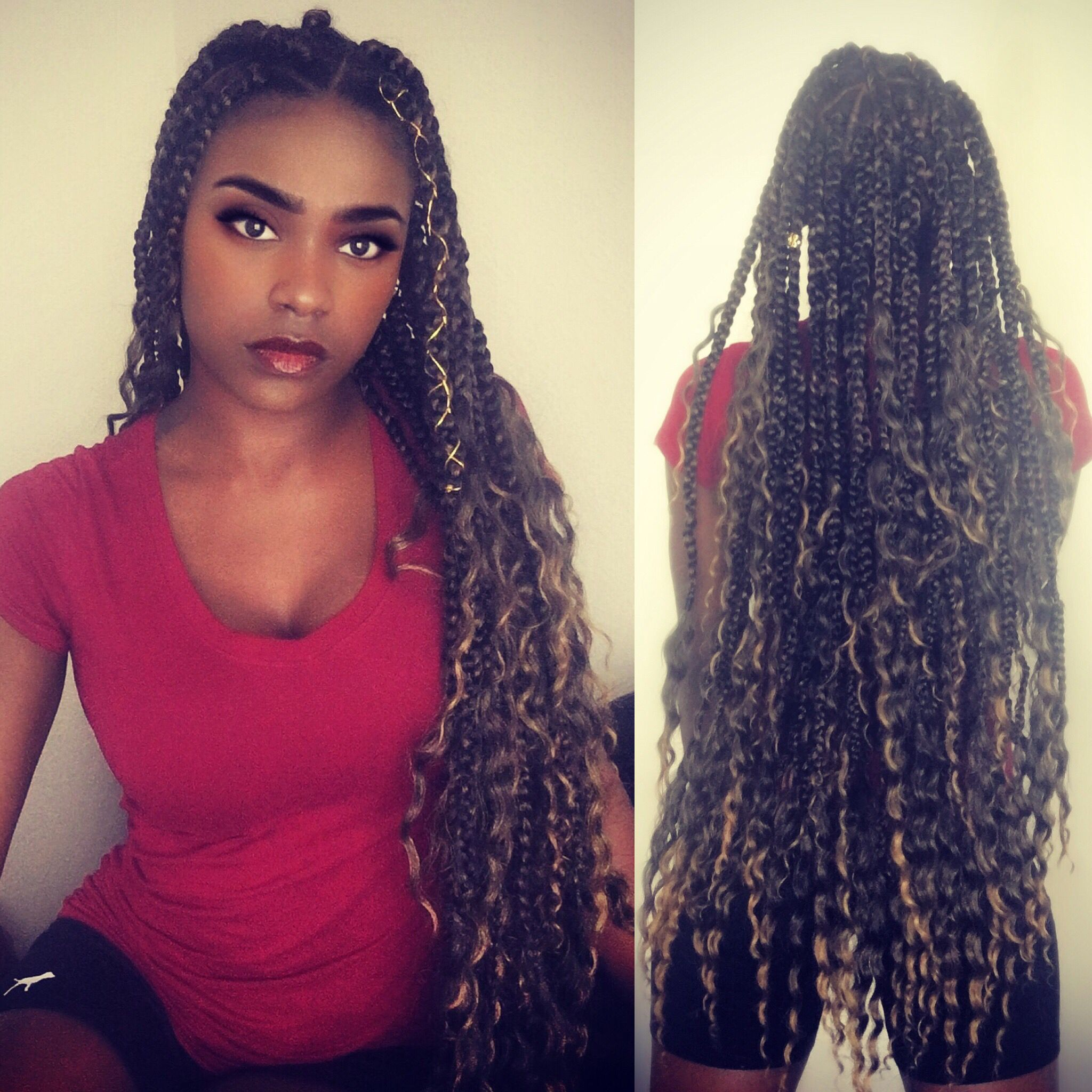 Goddess Box Braids Or Bohemian Box Braids These Are Specifically