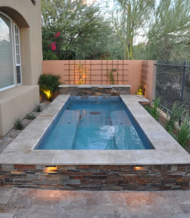 Small But Wonderful Small Pool Design Pools For Small Yards Swimming Pools Backyard