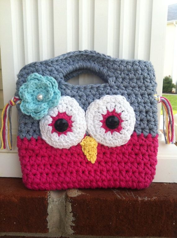 Little Girl Crochet Purse